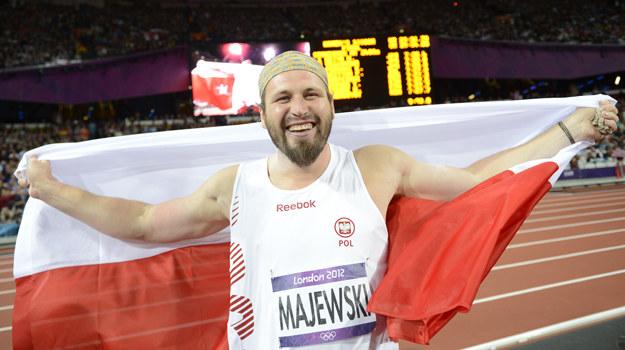 Tomasz Majewski obronił tytuł mistrza olimpijskiego /ADRIAN DENNIS /AFP
