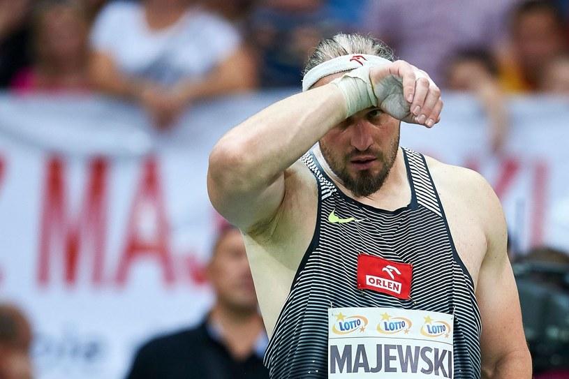 Tomasz Majewski przeżywa wielki dramat /AFP