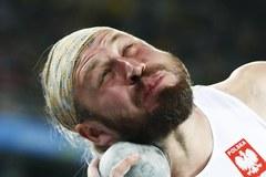 Tomasz Majewski szósty w konkursie pchnięcia kulą.