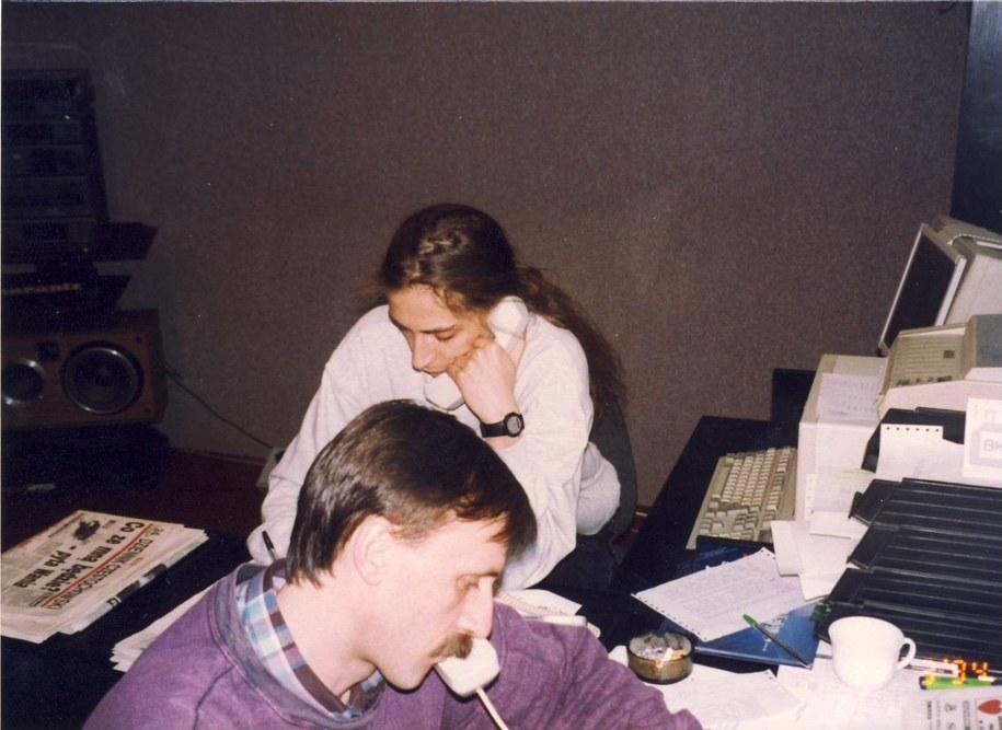 Tomasz Maszczyk w częstochowskim oddziale RMF FM /archiwum /RMF FM