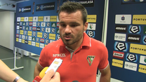 Tomasz Nowak po meczu Legia - Zagłębie 2-1. Wideo