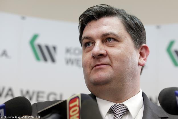 Tomasz Rogala, prezes Kompanii Węglowej. Fot. Dominik Gajda /Reporter