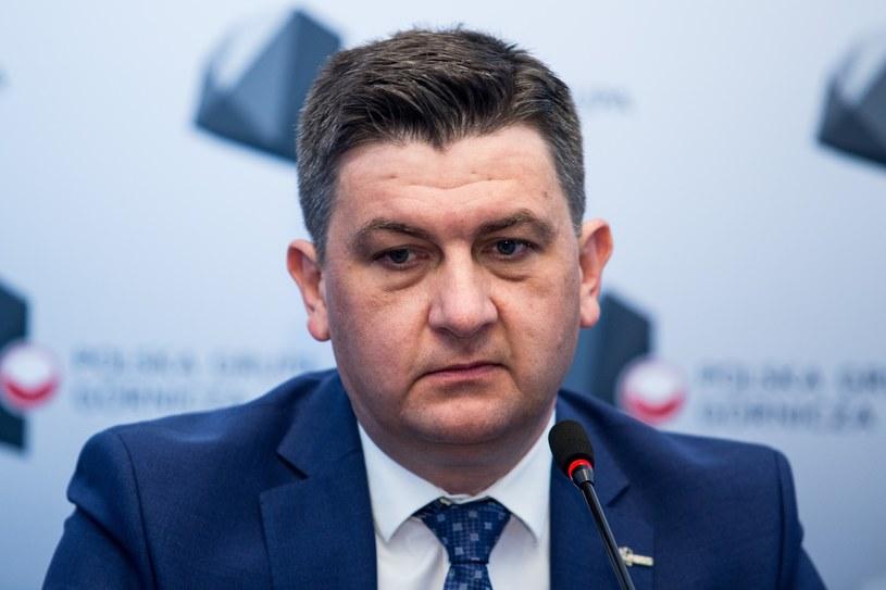 Tomasz Rogala, prezes PGG. Fot. Marek Kuwak /Reporter