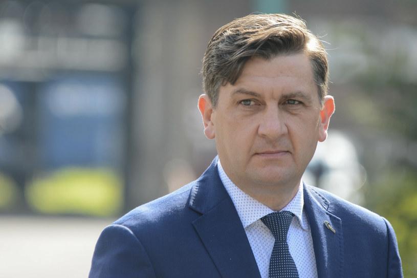 Tomasz Rogala, prezes Polskiej Grupy Górniczej /Michał Dubiel /Reporter