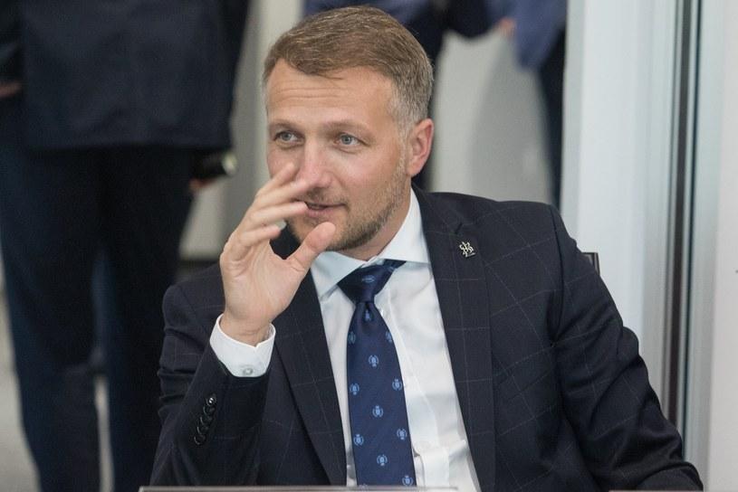 Tomasz Salski, prezes ŁKS-u /Tomasz Jastrzębowski /East News