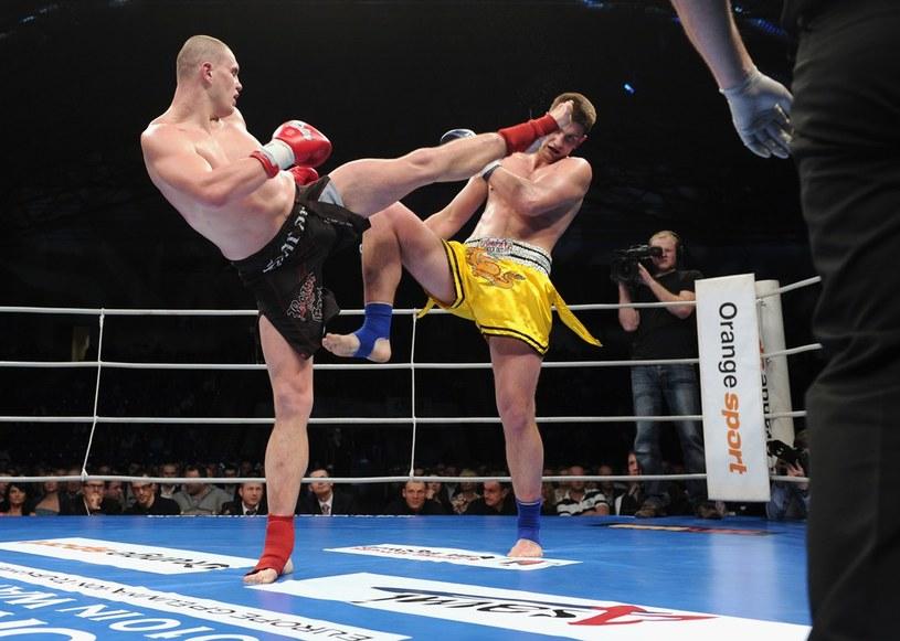 Tomasz Sarara - najlepszy kickbokser w wadze ciężkiej w Polsce /Bartosz Krupa /East News