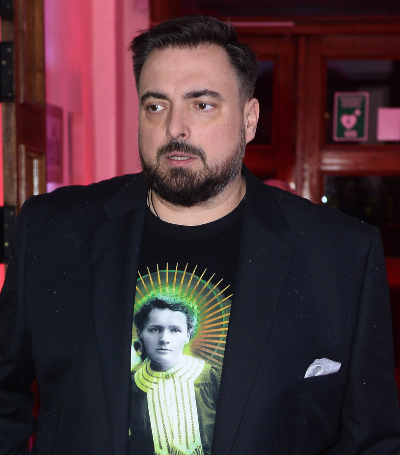 Tomasz Sekielski na gali 21 listopada /Jaroslaw Antoniak /MWMedia