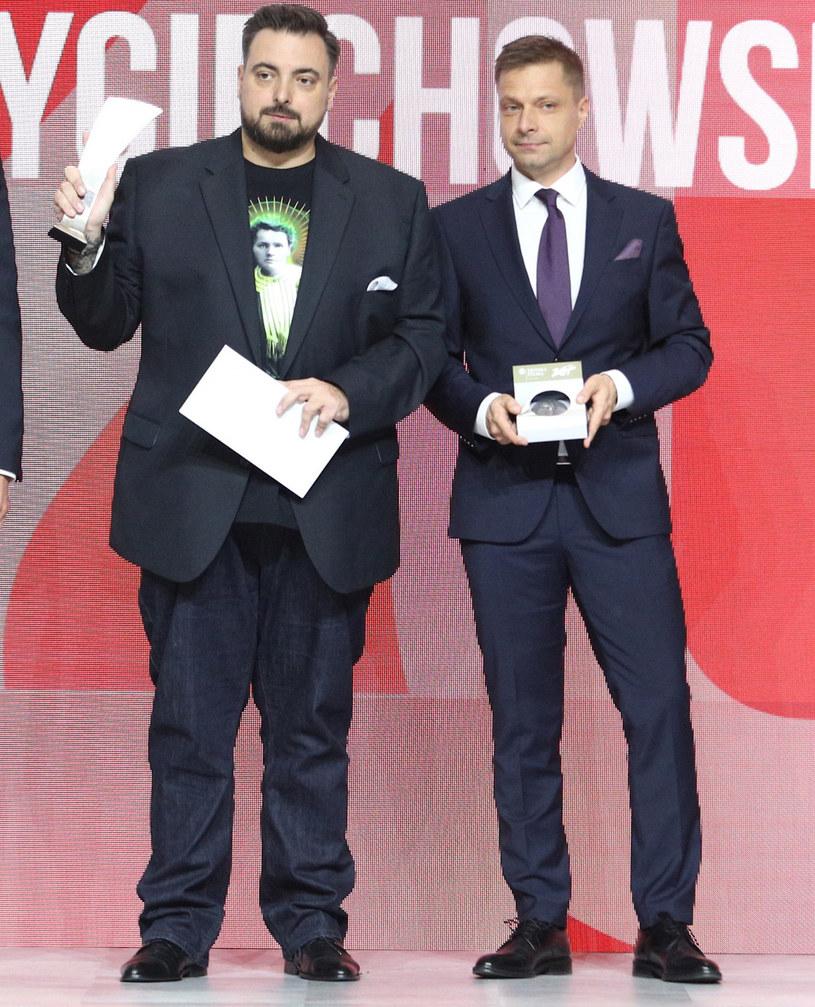 Tomasz Sekielski z bratem /Tomasz Jastrzębowski /Reporter