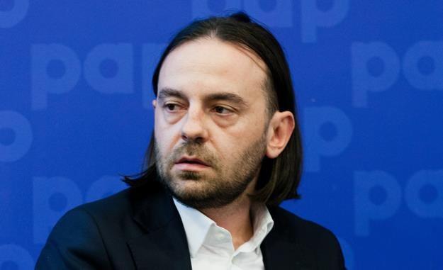 Tomasz Siemieniec. Fot. Krzysztof Skłodowski /FORUM