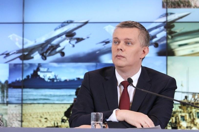 """Tomasz Siemoniak: """"Iskandery w Kaliningradzie wymagały naszej reakcji"""" /Michał Dyjuk /Reporter"""