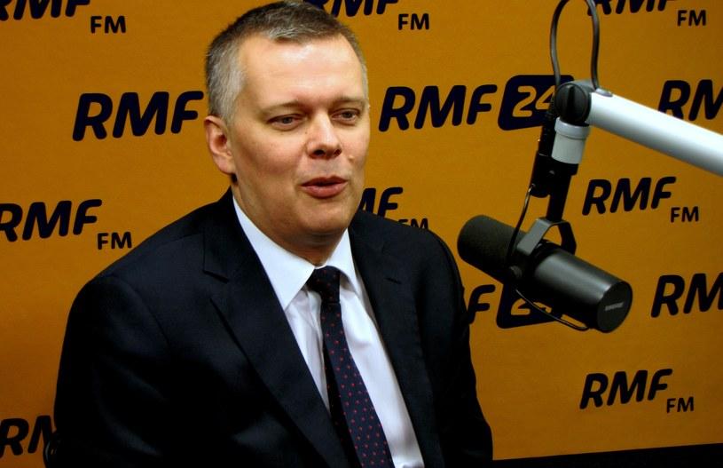 Tomasz Siemoniak w Kontrywiadzie RMF FM /Kamil Młodawski /RMF FM