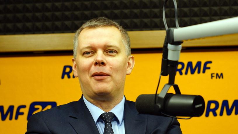 Tomasz Siemoniak /Michał Dukaczewski (RMF FM) /RMF FM