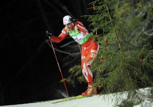 Tomasz Sikora po raz piąty jedzie na olimpiadę /AFP