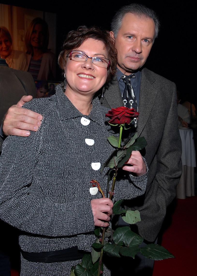 Tomasz Stockiner i Agnieszka Kotulanka /Andras Szilagyi /MWMedia