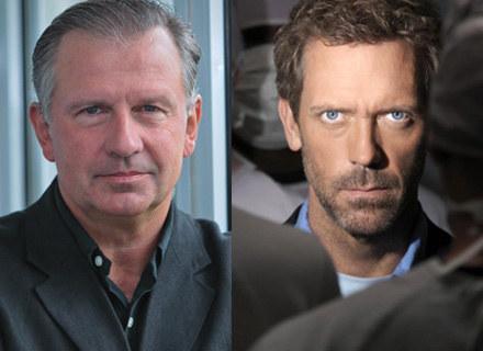 Tomasz Stockinger (fot. P. Przybyszewski / MWMedia) i Hugh Laurie (mat. prasowe) /
