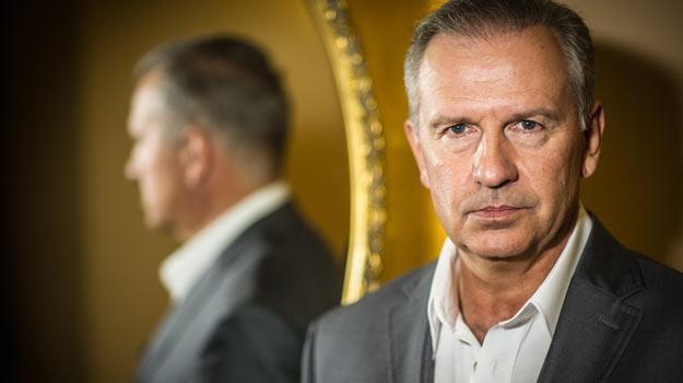 Tomasz Stockinger jest teraz singlem, nie będzie więc hucznego obchodzenia 60-tki - fot.J.Domiński /Reporter