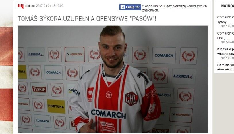 Tomasz Sykora /cracovia.pl /