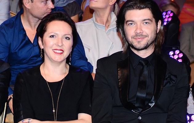 Tomasz z żoną Moniką /- /MWMedia