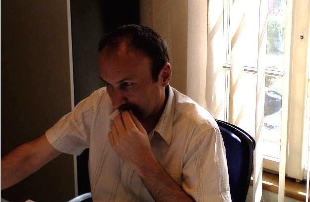 Tomasz Zaucha podczas czatu z tegorocznymi maturzystami /INTERIA.PL