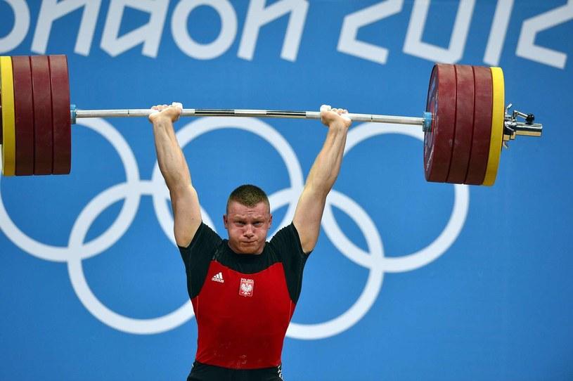 Tomasz Zieliński podczas igrzysk w Londynie /AFP