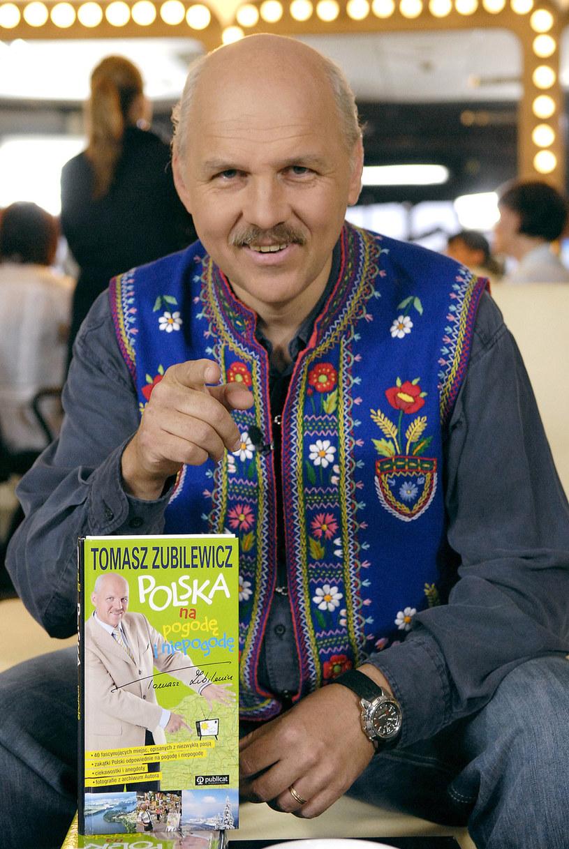 Tomasz Zubilewicz pisze też przewodniki turystyczne /AKPA