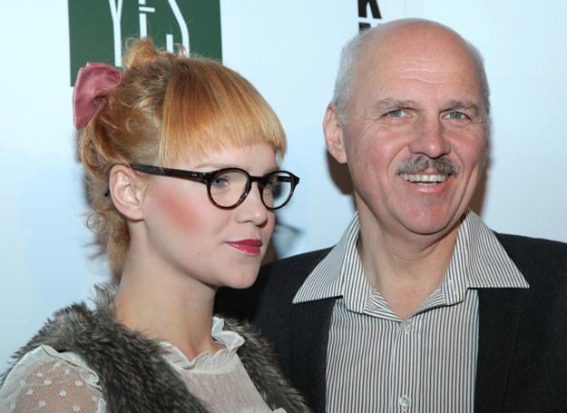Tomasz Zubilewicz z córką Martą /P.Wrzecion /MWMedia