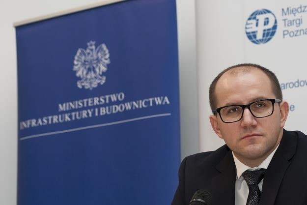 Tomasz Żuchowski, wiceminister infrastruktury i budownictwa /fot. Dawid Tatarkiewicz /East News