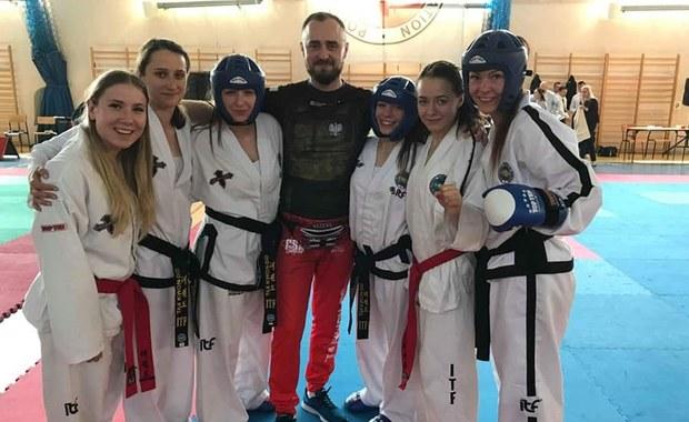 Tomaszowska policjantka potrójną wicemistrzynią Polski w taekwondo