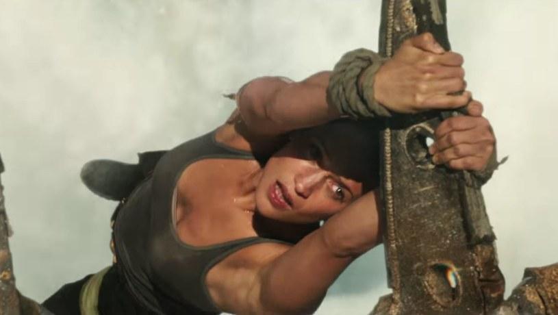 Tomb Raider - kadr z trailera umieszczone w serwisie YouTube /materiały źródłowe