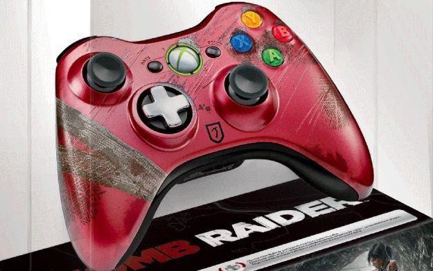 Tomb Raider - limitowana edycja kontrolera do Xboksa 360 /