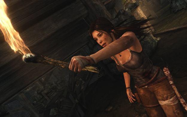 Tomb Raider - motyw graficzny /Informacja prasowa
