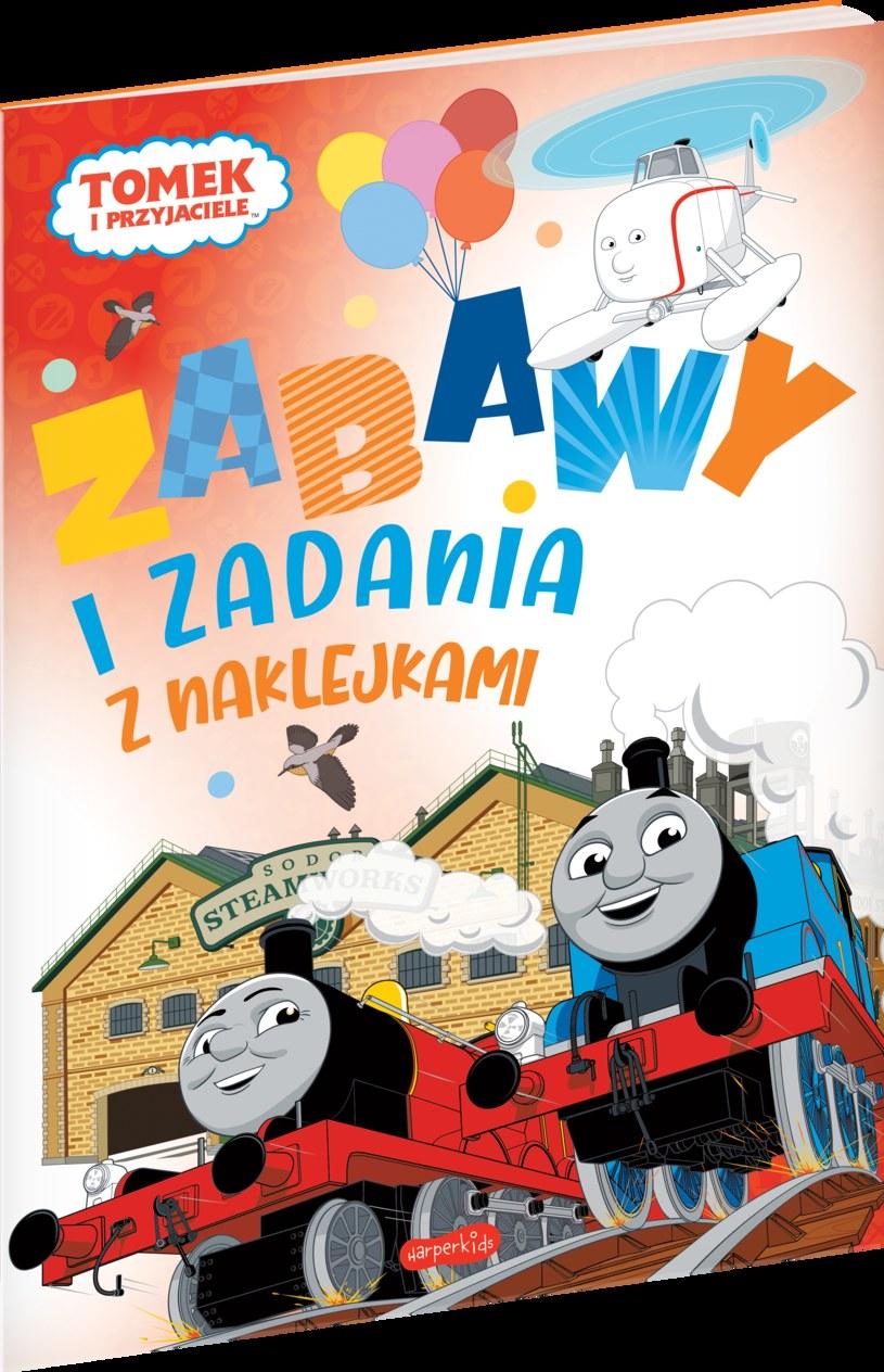 Tomek i przyjaciele. Zabawy i zadania z naklejkami /INTERIA.PL/materiały prasowe