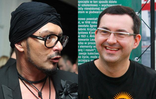 Tomek Jacyków (fot.Krzysztof Jarosz), Michał Wiktowski (fot.Krzysztof Kuczyk)  /Agencja FORUM