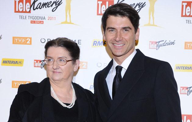 Tomek Kammel z mamą Anną, fot.Jarosław Antoniak  /MWMedia