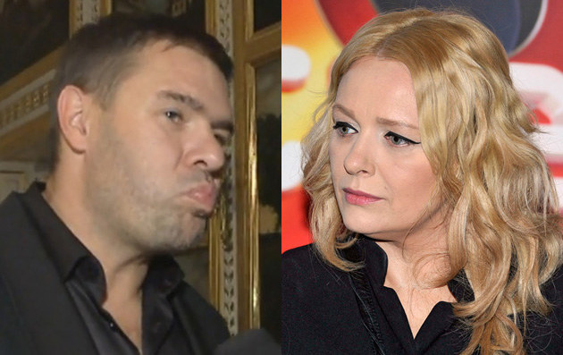 Tomek Karolak i Kasia Nosowska /AKPA