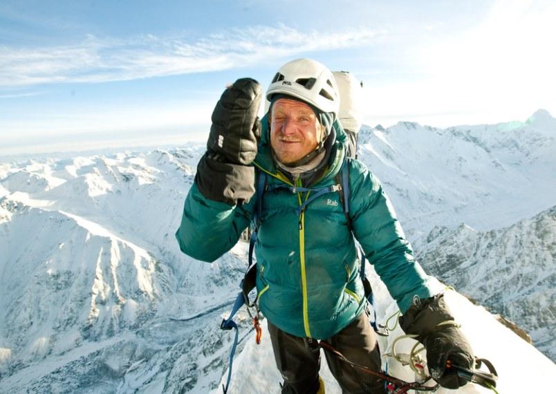 Tomek Mackiewicz podczas wyprawy na Nangę Parbat w 2014 roku /Michał Obrycki /Agencja FORUM