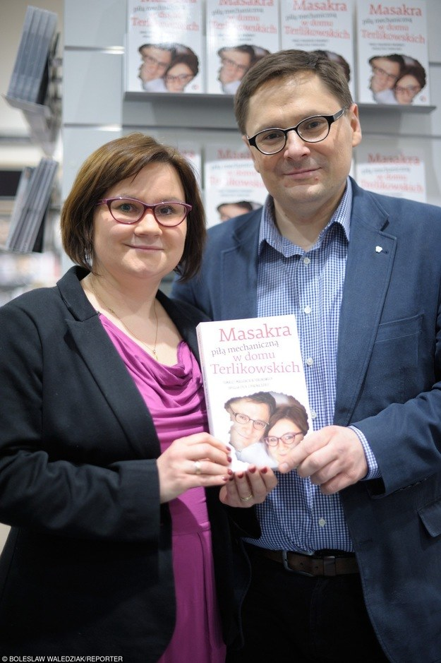 Tomek Terlikowski z żoną Gośką /East News