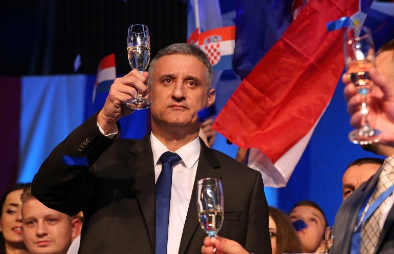 Tomislav Karamarko, lider Konserwatywnych Opozycjonistów /AFP