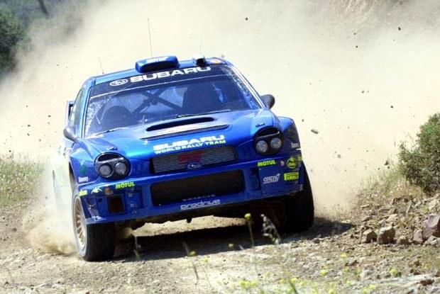 Tommi Makinen wygrał ostatnią próbę i zajmuje trzecią pozycję w rajdzie (kliknij) /poboczem.pl