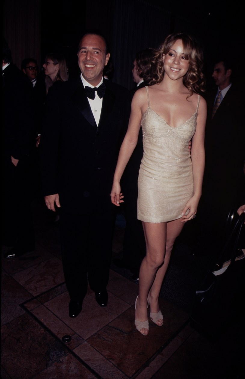 Tommy Mottola i Mariah Carey w maju 1997 r. /The LIFE Picture Collection /Getty Images