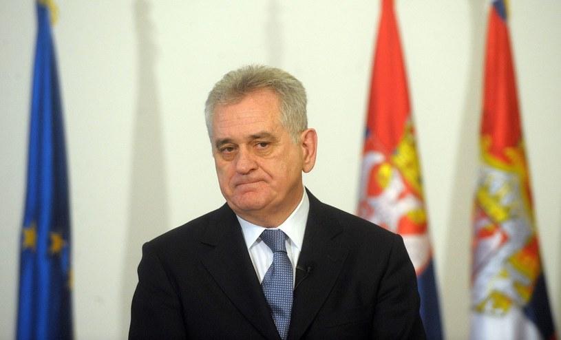 Tomoslav Nikolic, prezydent Serbii /AFP