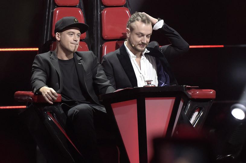 "Tomson i Baron w ""The Voice of Poland"" /Gałązka /AKPA"