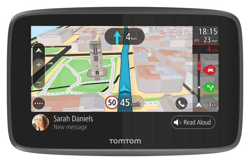 TomTom Go 5200 /materiały prasowe