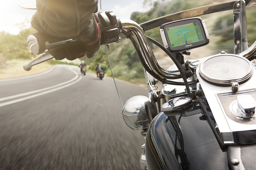 TomTom Rider w akcji /materiały prasowe