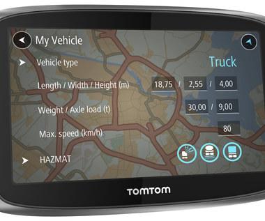TomTom Trucker 6000 - nawigacja dla ciężarówek