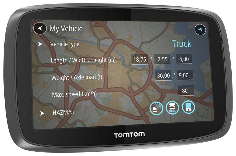 TomTom Trucker 6000 /materiały prasowe