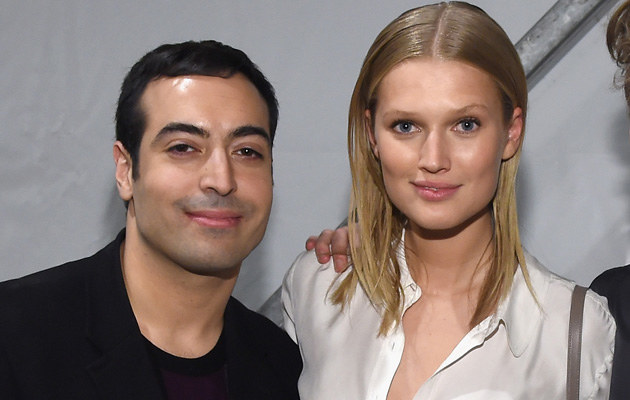 Toni Garrn i Mohammed Al Turki /Larry Busacca /Getty Images
