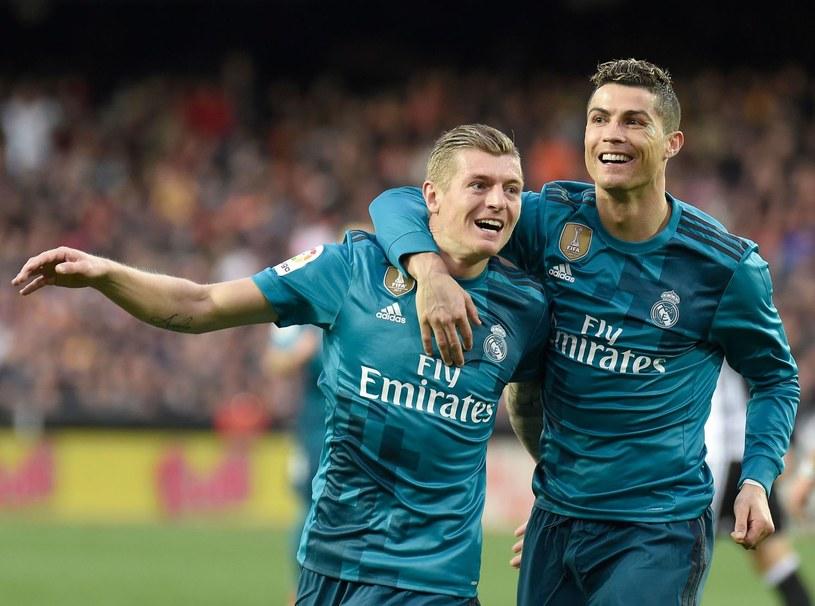 Toni Kroos i Cristiano Ronaldo z czasów wspólnej gry w Realu Madryt /AFP