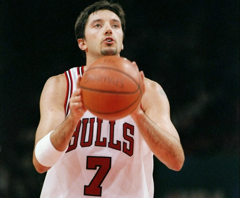 Toni Kukocz w barwach Chicago Bulls /John Gichigi /Getty Images