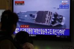 Tonie południowokoreański prom z 470 osobami na pokładzie